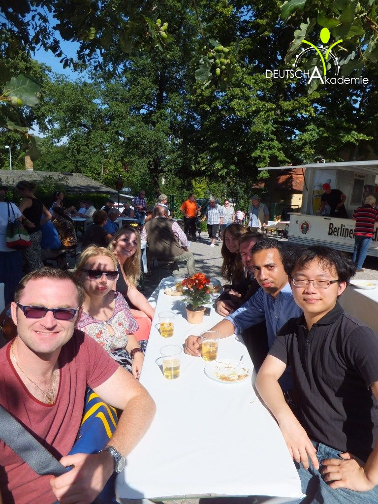... der DeutschAkademie Berlin – Potsdam Schloss Sanssouci am 16.08.2013