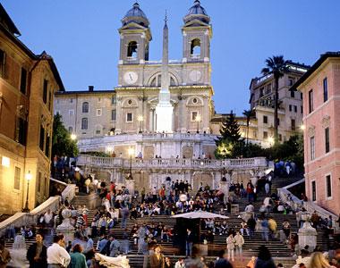Piazza Spagna Rome Italy Jpeg