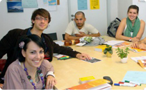Small groups – no more than 9 participants in your German language course in Berlin.
