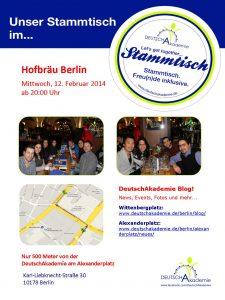 Poster_Stammtisch_12.02_Hofbräu
